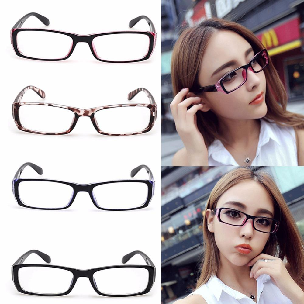 ff1641c82b 2019 2017 Women s Glasses Frame Eyeglasses Vintage Spectacles Optical Len  Clear Chic Eyewear From Haydena