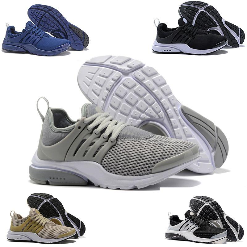 b5a621f972 Großhandel Nike Air Presto Flyknit Ultra 2018 Neue Presto Breathe Gelb Schwarz  Weiß Herren Prestos Schuhe Turnschuhe Frauen, Laufschuhe Für Männer ...