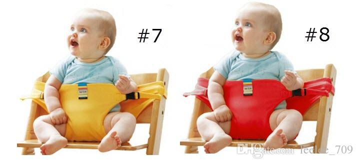 Baby Chair Portable Infant Seat Product Dining Lunch Chair/Seat Safety Belt Feeding High Chair Harness Baby chair seat BKS02
