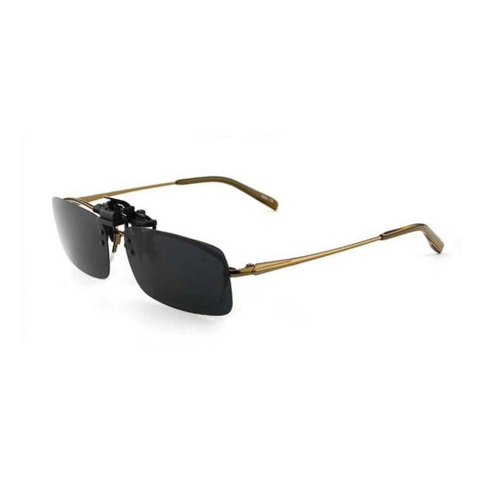 80dec0fcd8 Driving Night Vision Clip-on Flip-up Lens Sunglasses Glasses Cool ...