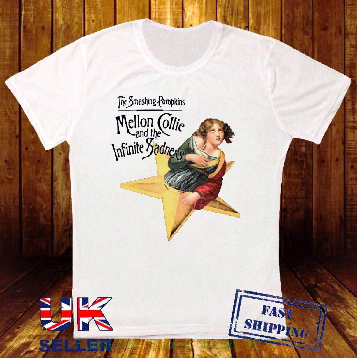 7dcf15450d7 The Smashing Pumpkins Mellon Collie Et Le Infinite Sadness Blanc T Shirt  192 It T Shirt Design Clever Tee Shirts From Aaa888teesstore