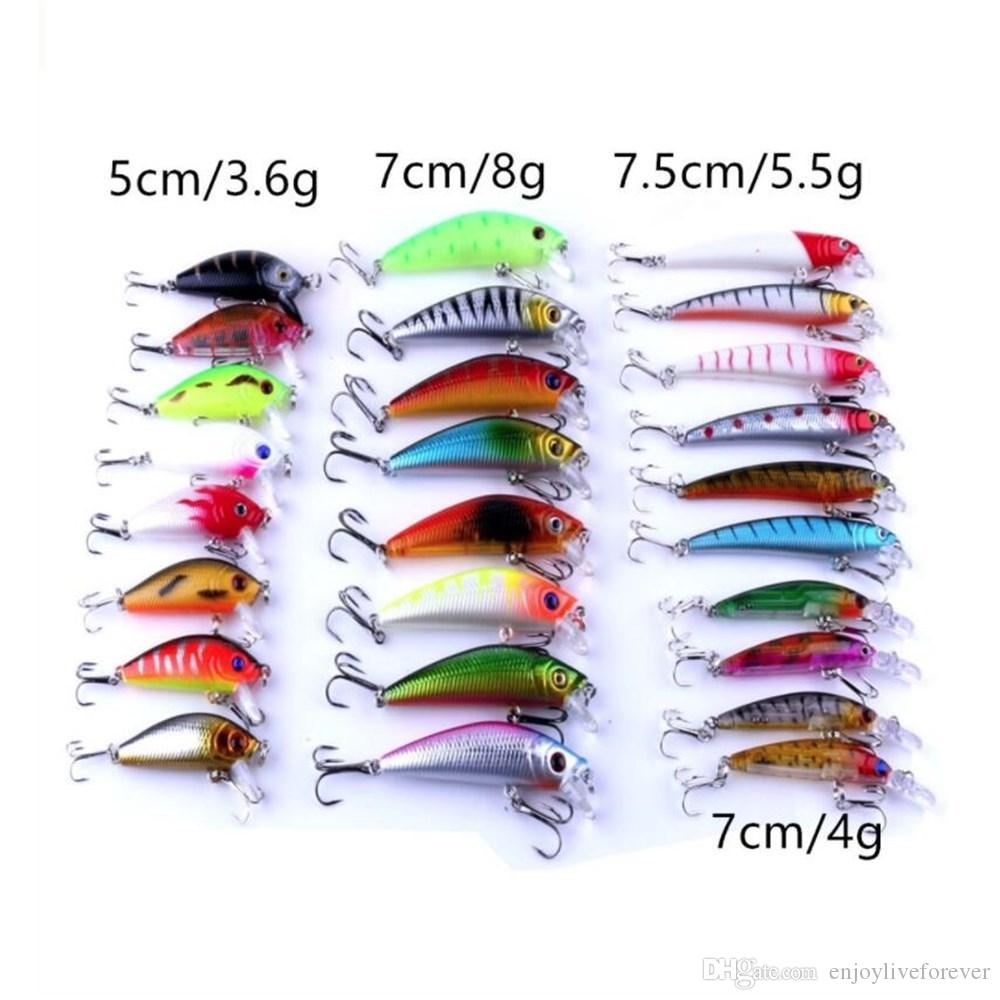 Mixed Fishing Lures Spinners Kit Spoon Soft Hard Bait Swim Crankbait Bass Trout