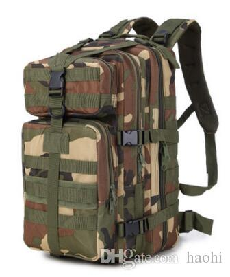 Brand New 3P MULTI-MISSION attack tactical backpack Outdoor mountaineering travel camping molle airsoft bag Army fan bag