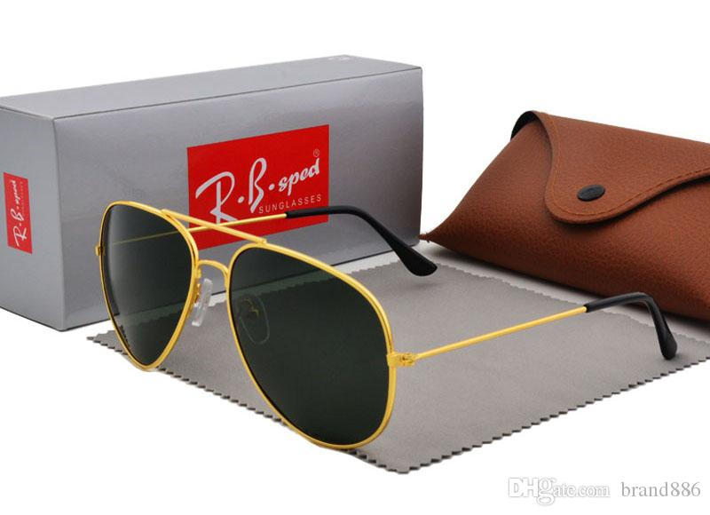 3f94eb220e Polarized Sunglasses For Men Women Brand Design Pilot Sun Glasses Vintage  Sport Glasses Polaroid Lens With Brown Case And Box John Lennon Sunglasses  Wiley X ...