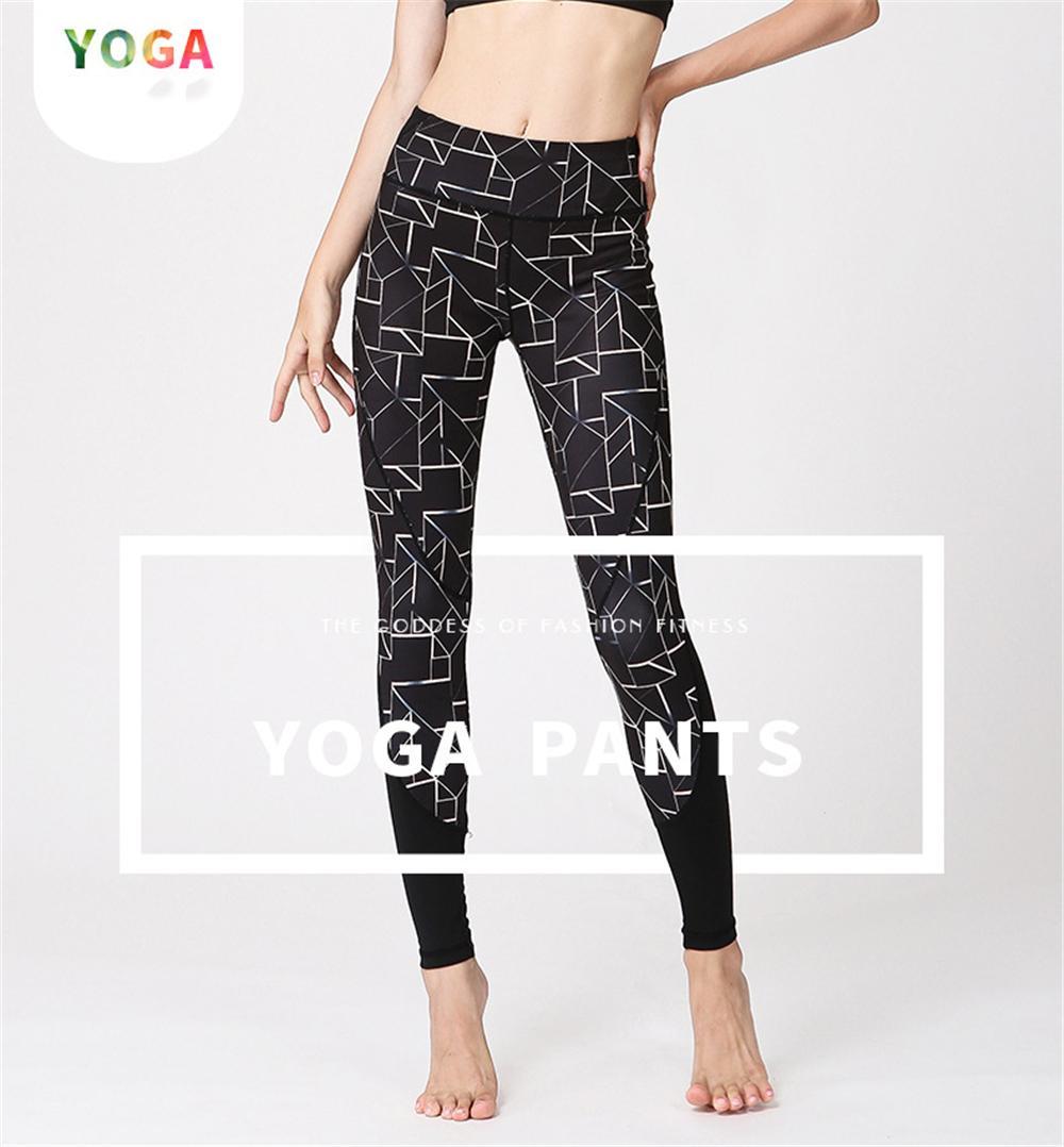 Acheter Géométrique Imprimer Yoga Leggings Pour Femmes Belle Impression Gym  Élastique Taille Skinny Fitness Leggings Workout Formation Sport Collants De  ... 908f9e1a084