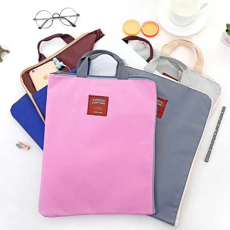 En Pour Document Cartella Fashion Archival Etya Porte Rangement 4 Sac Classeurs Couleurs A4 De Toile Documents qMUVpSz