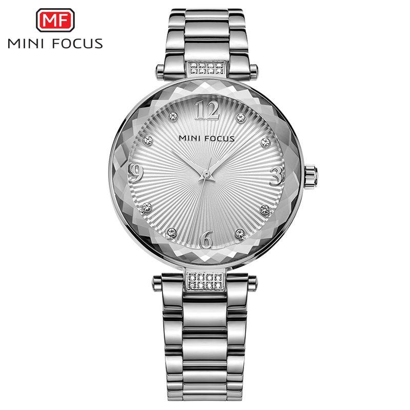 c974d1ad6a94 MINI FOCUS Quartz Watch Women Watches Ladies Brand Luxury Stainless Steel Watch  Female Wristwatch Silver Clock Relogio Feminino High Quality Montre Brand  ...