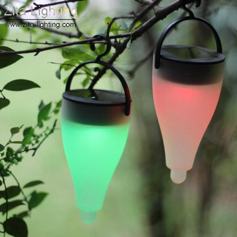 Zita Lighting LED Solar Festival Colorful Lights Decorative Lamp Firefly Lawn Lamp Highlight Landscape Garden Yard Hanging Tree