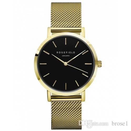 Guarda l'orologio in acciaio al tungsteno ROSIFLIE-LD spot lucifero con cinturino in acciaio spedizione gratuita