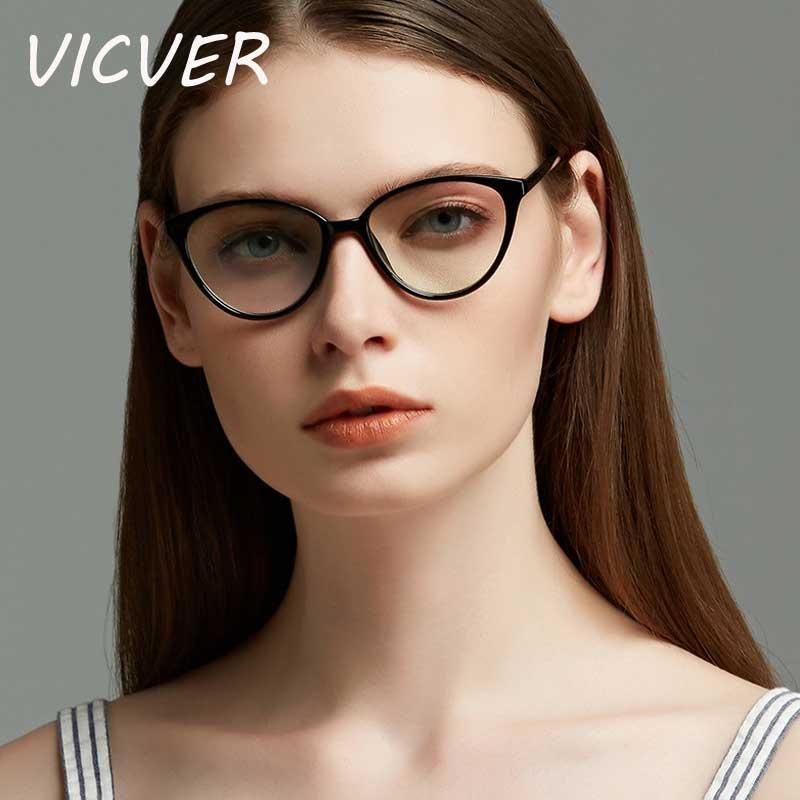 a997a74c204f6 Cat Eye Glasses Ladies Vintage Clear Lens Eyewear Sexy Women Transparent  Cateye Eyeglasses Female Retro Plastic Frame Eyewear Tifosi Sunglasses  Cheap ...