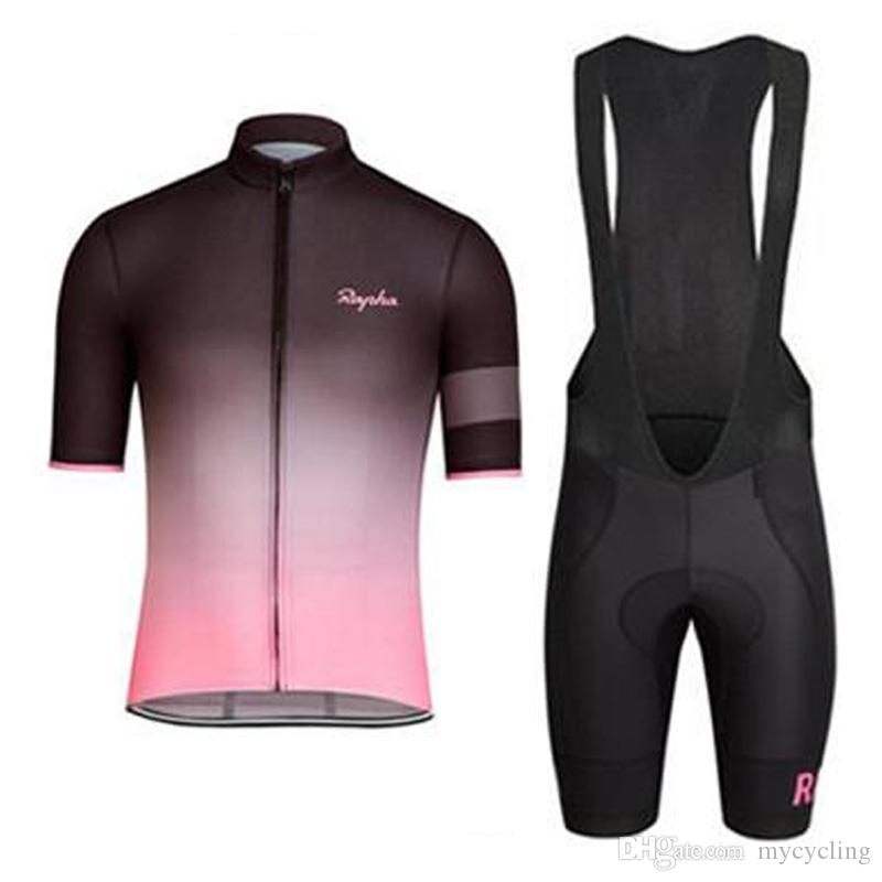 New Rapha pro Team cycling jerseys 2019 Breathable quick-drying bike maillot ropa ciclismo Bicycle MTB bicicleta clothing set K2501