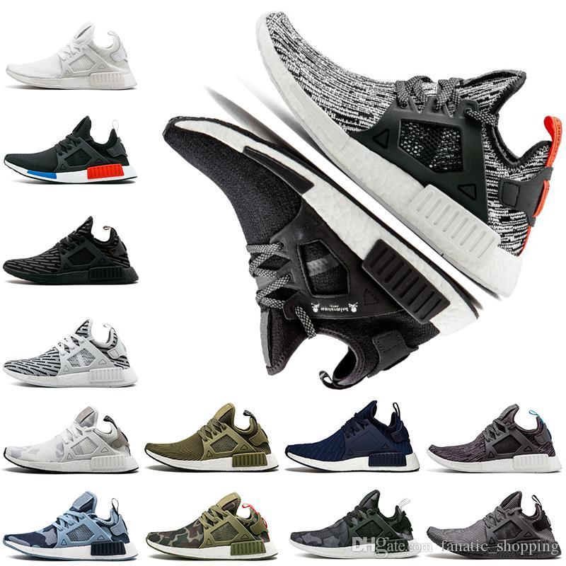 92623044148d XR1 Running Shoes Primeknit OG Zebra Camo Mastermind Japan Olive ...