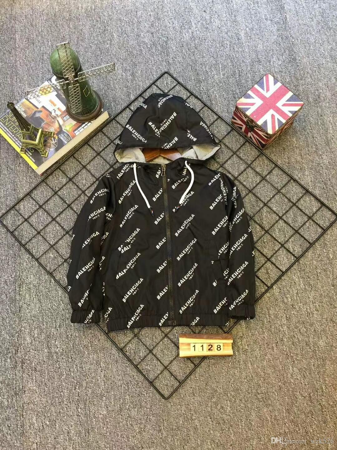 42e2e043aa 2018 Spring And Autumn New Children's Jacket Fashion Trend Handsome ...