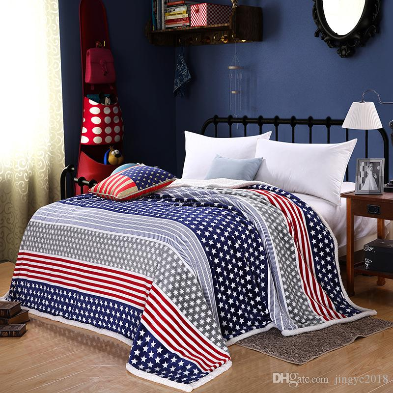5 Styles Polyester Blanket 39 59 Inch Big Size Quilt Cover For Sofa