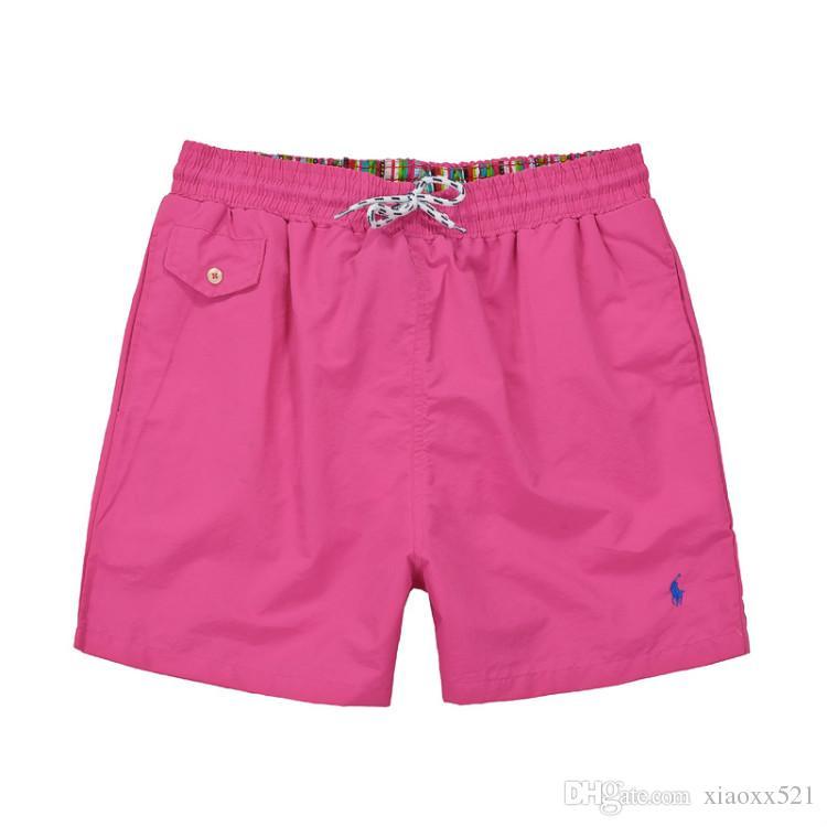 2018horse lqpolos marque Shorts de marque polo d'été Beach Surf Swim Sport Maillots de bain Boardshorts de gymnastique Short de basketball Bermuda