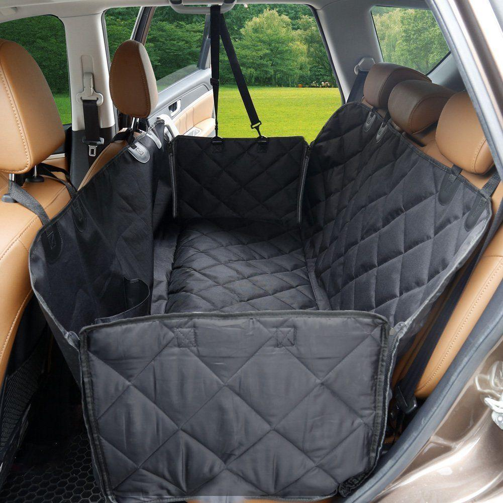dog seat cover waterproof protect car mat pet slip hammock non cat product back rear