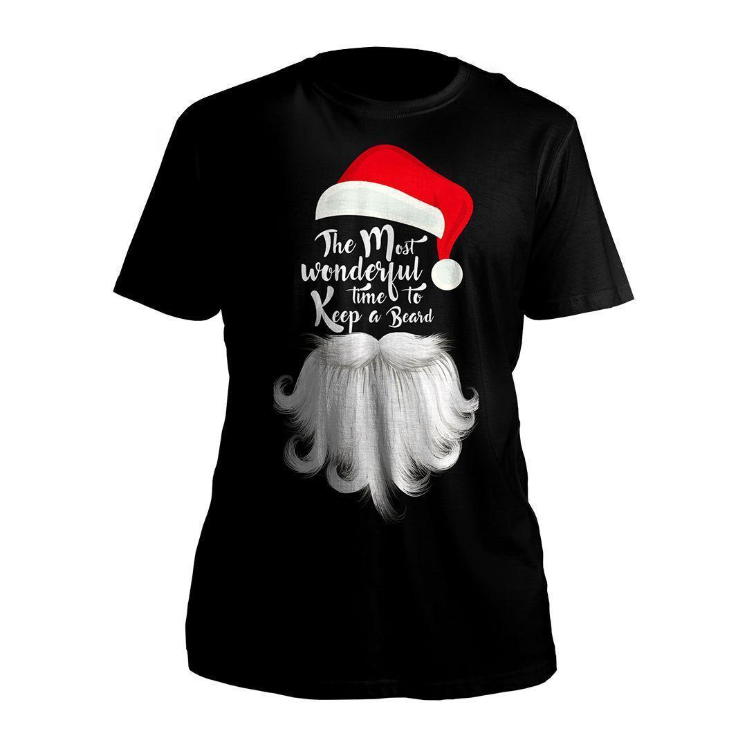 29a8a328 Mens Christmas Santa Beard Novelty Xmas Holiday Fun Cotton T Shirt S 3XL  100% Cotton T Shirts Brand Clothing Tops Tees Mens T Shirt Cool Tshirt  Designs From ...