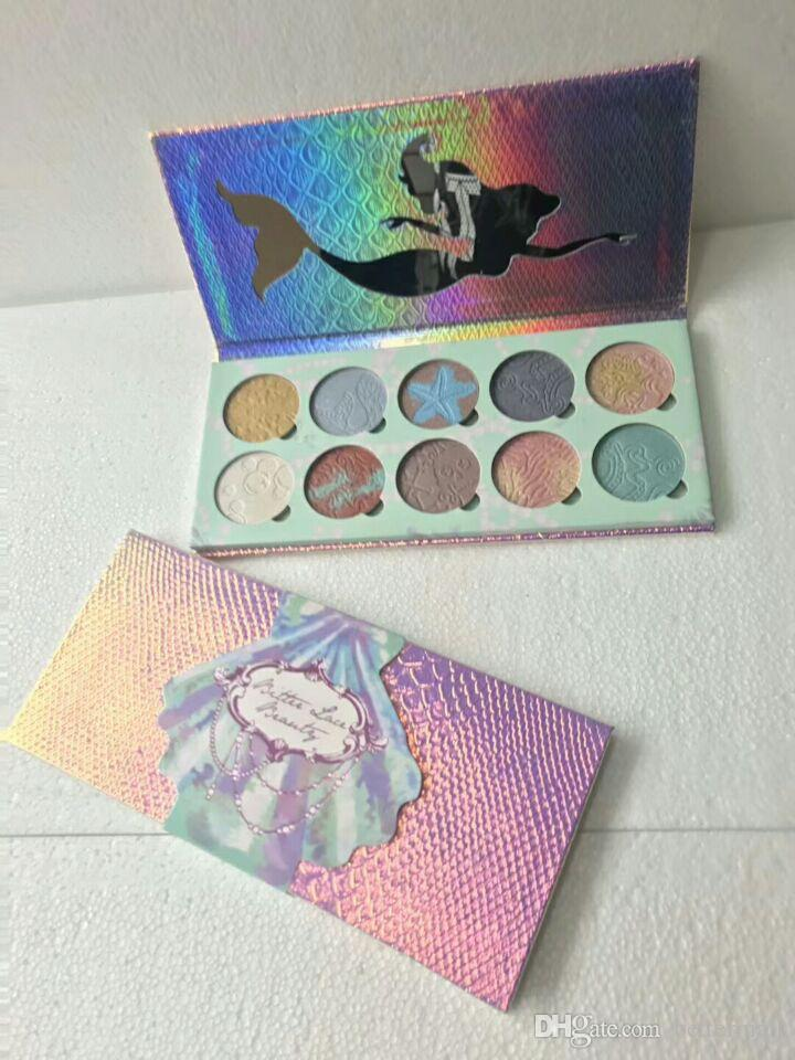 Brand New Bittee lace Beauty highlighter Palette Luminous Eyeshadow palette DHL Free