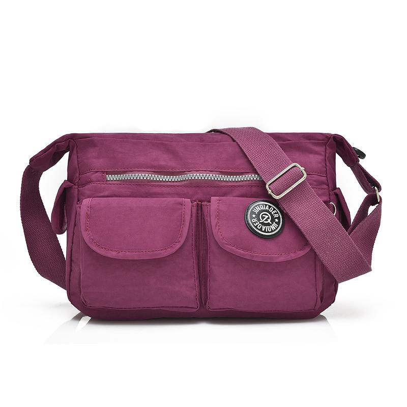 714d4ebf774 Fashion Women Messenger Bags Waterproof Nylon Shoulder Bag Handbag Ladies  Crossbody Bags For Women Casual Tote Bolsa Feminina Italian Leather Handbags  Pink ...