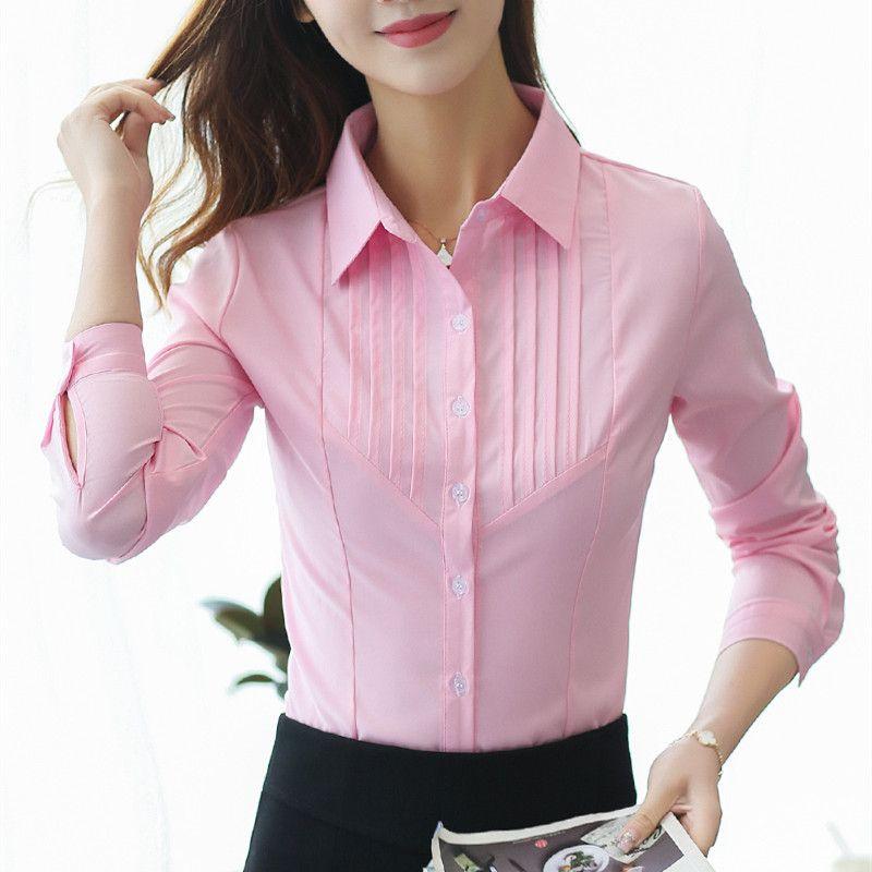 d38f30da8e Compre Blusa De Mujer Blusas Y Blusas Para Mujer Camisas De Algodón Para  Mujer Camisas De Mujer 2018 Blusa Rosa Blusa Feminina Plus Size XXXL   5XL  A  35.1 ...