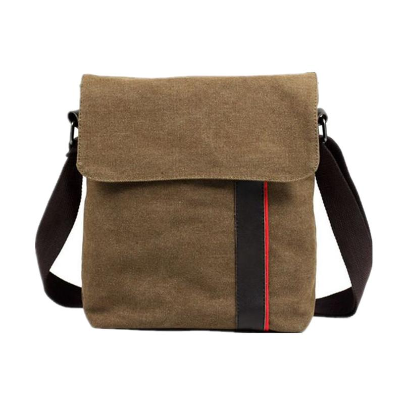 057b9f2815 FZMBAI Famous Brand Design Canvas Men Bag
