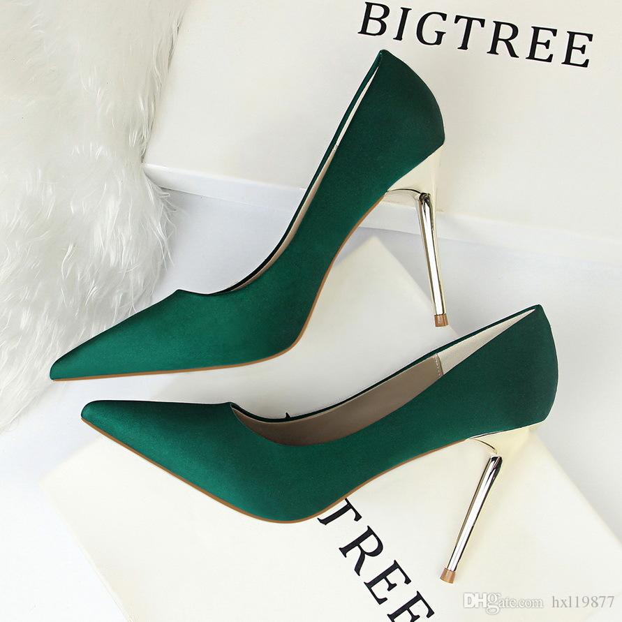 BIGTREE Classics Women Shallow Office High-heeled Shoe New Arrival ... 33f2b5e48084