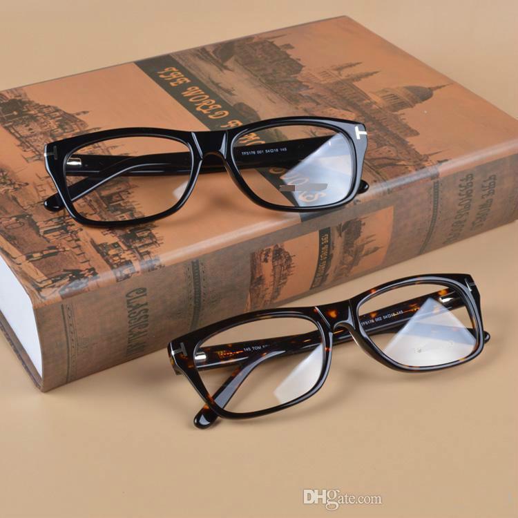 e372467c3c TF5176 Glasses Frame Clear Lense Designer Glasses Myopia Eyeglasses ...