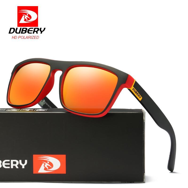 fc7cb9c68f70f Compre DUBERY 2017 Óculos De Sol Polarizados Homens Aviação Condução Tons  Masculinos Óculos De Sol Para Homens Retro Barato Designer De Marca De Luxo  Oculos ...