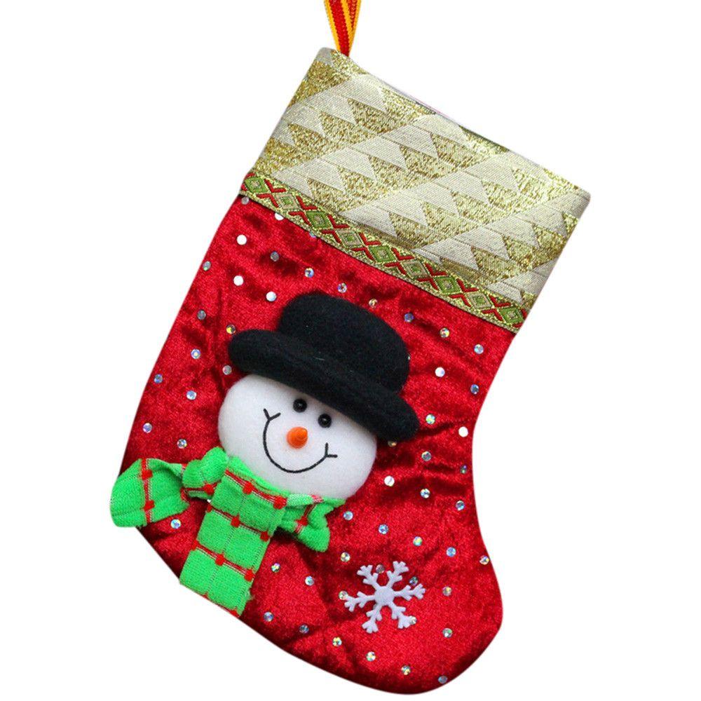 59c455fb6 Compre Adornos Navideños Navidad 2018 HJW Navidad Regalos Dulces Cuentas  Santa Claus Muñeco De Nieve Calcetines Decoraciones A $35.03 Del Hariold |  DHgate.