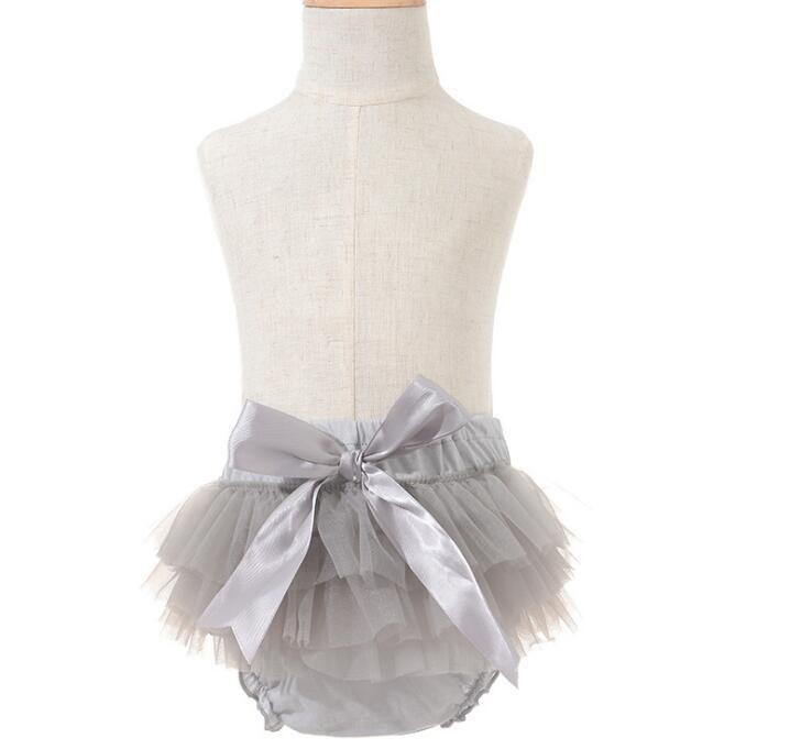 Cute New Baby Girl Bloomers Diaper Cover Headband Set Newborn Ruffle Panties Lace Infant Shorts
