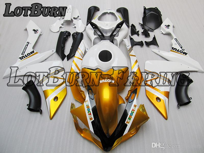 Fit For Yamaha YZF R1 YZF-R1 YZF1000 R1 2007 2008 07 08 Motorcycle Fairing  Kit High Quality ABS Plastic Injection Molding Custom Made C717