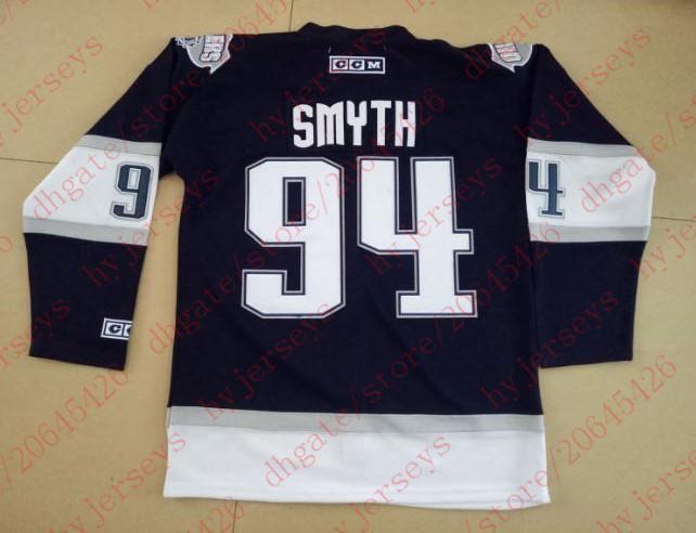 2019 Ryan Smyth Jersey  94 EDMONTON OILERS 2001 MCFARLANE SPAWN OIL DROP  Hockey Jerseys From Hyjerseys cbd8ca33c