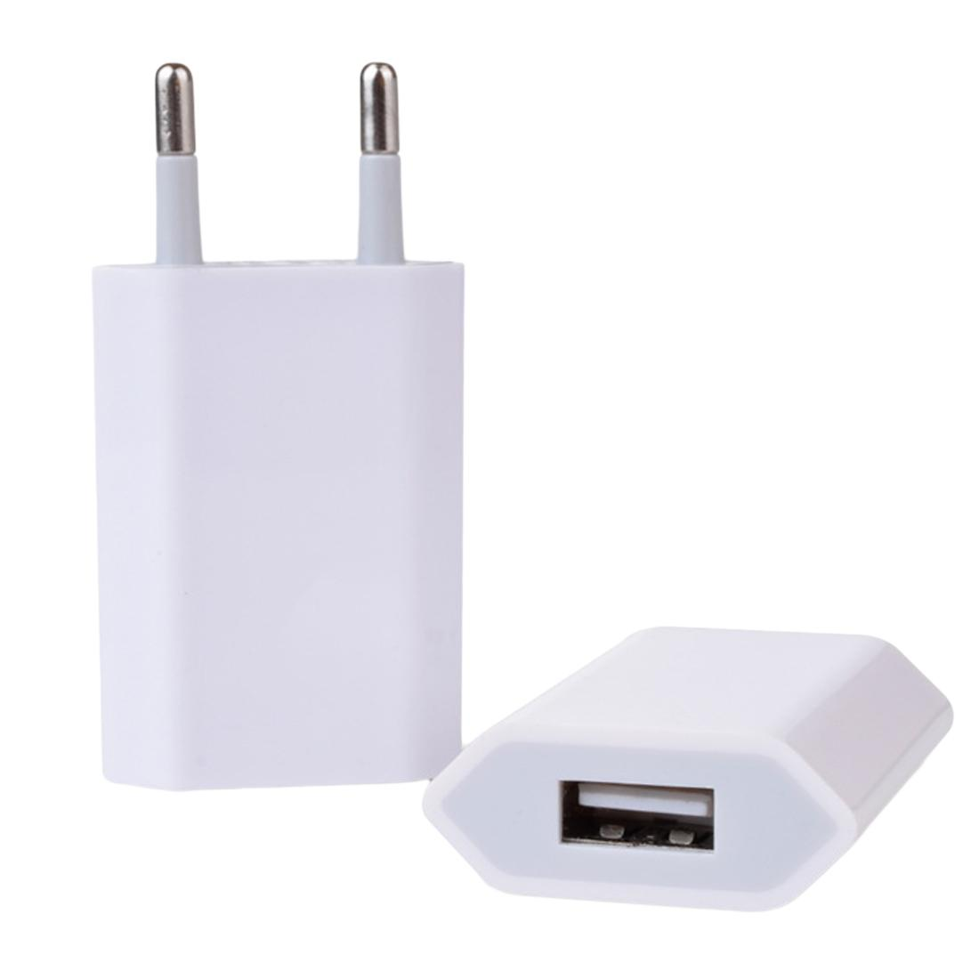 Eu Usb Wall Charger For Apple Iphone 6 6s 7 Plus Ipod Colorful 4g 4s Plug Ac Adapter Iphone4 5s 5g Wireless Phone Charging Power Bank 2600 Mah