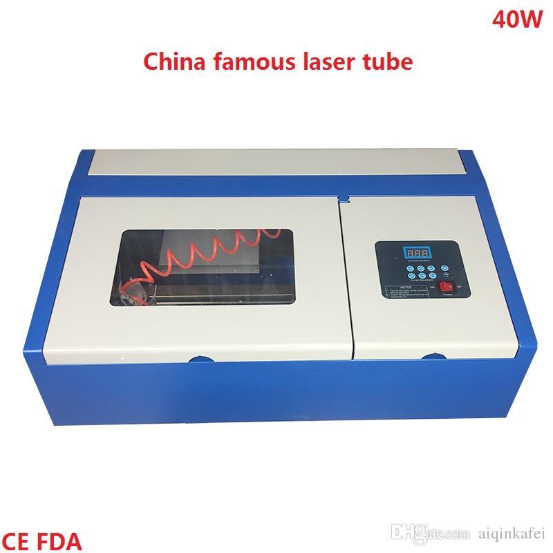 Acquista Alta Efficienza 40w Mini Macchina Incisione Laser Portatile