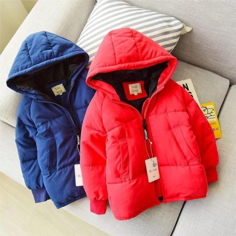185fa8731c47 Baby Girls Winter Coat Set Will Child Candy Color Long Sleeve Even ...