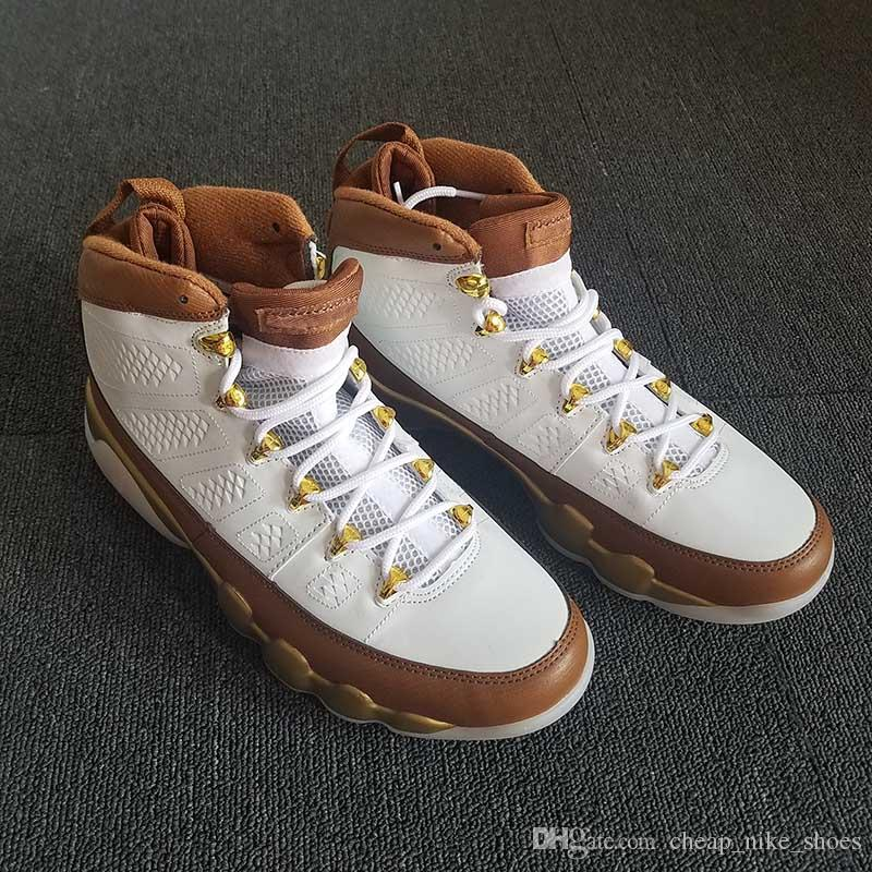001875793c163c 2019 2018 New Arrival 9 Mop Melo Champagne Gold Men Basketball Shoes 9s  Mens Melo Baskets Sports Trainers Shoe Sneakers 302370 122 From  Cheap nike shoes