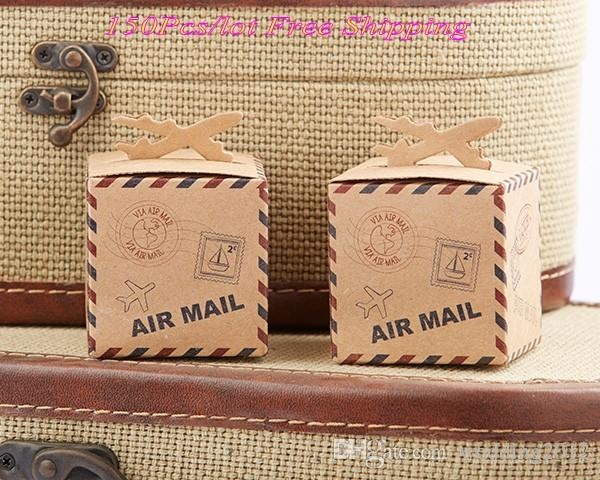 travel themed wedding gift box of let the adventure begin airplane favor box for bridal shower and party favor box wedding boxes for gifts wedding favor box