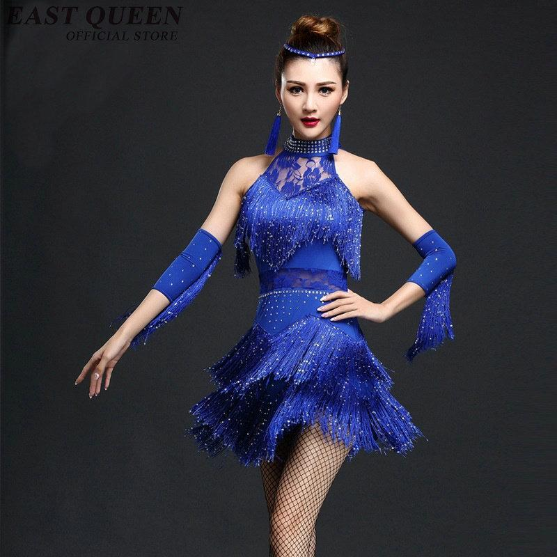 Grosshandel Latin Dance Dress Latin Dance Kostume Fur Frauen Samba