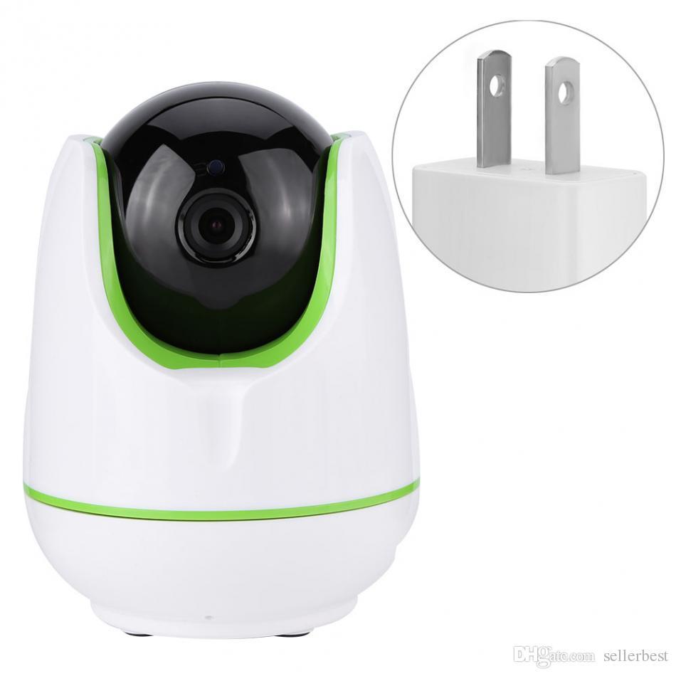 720P HD WiFi беспроводной домашней камеры ночного видения ИК-Cut P / T Webca для детей Дети Поддержка TF карты мобильного телефона пульта дистанционного управления