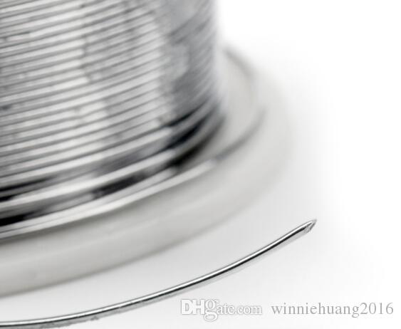 2 Adet / grup Yüksek Saflık Kurşun Lehim Teli 0.8mm 100g 60/40 Rosin Çekirdek Kalay Lehim Teli Lehim Kaynak Akı