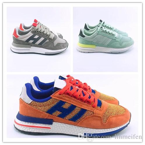 Men Casual Shoes Breathable Dragon Ball Z X Originals ZX500 RM Son Goku  Sports Shoes Trainers ZX 500 Best Women Real Boost Shoe Sports Shoes Casual Shoes  ZX ... 466824990