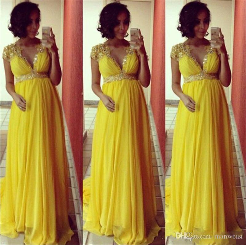 Vestidos para damas de honor embarazadas