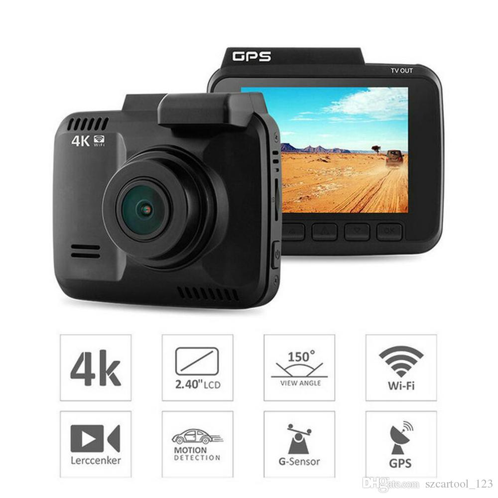 2b1cbcfc19f807 Gs63H 4K Car Dash Cam 4K Ultra HD 2160P Built In WiFi   GPS Parking Mode  Motion Detection Car Dvr Camera Video Recorder Novatek 96660 Dash Car  Camera ...