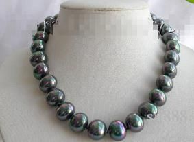 c458c350344b Compre Detalles Sobre El Impresionante Collar De Perlas De Concha De ...