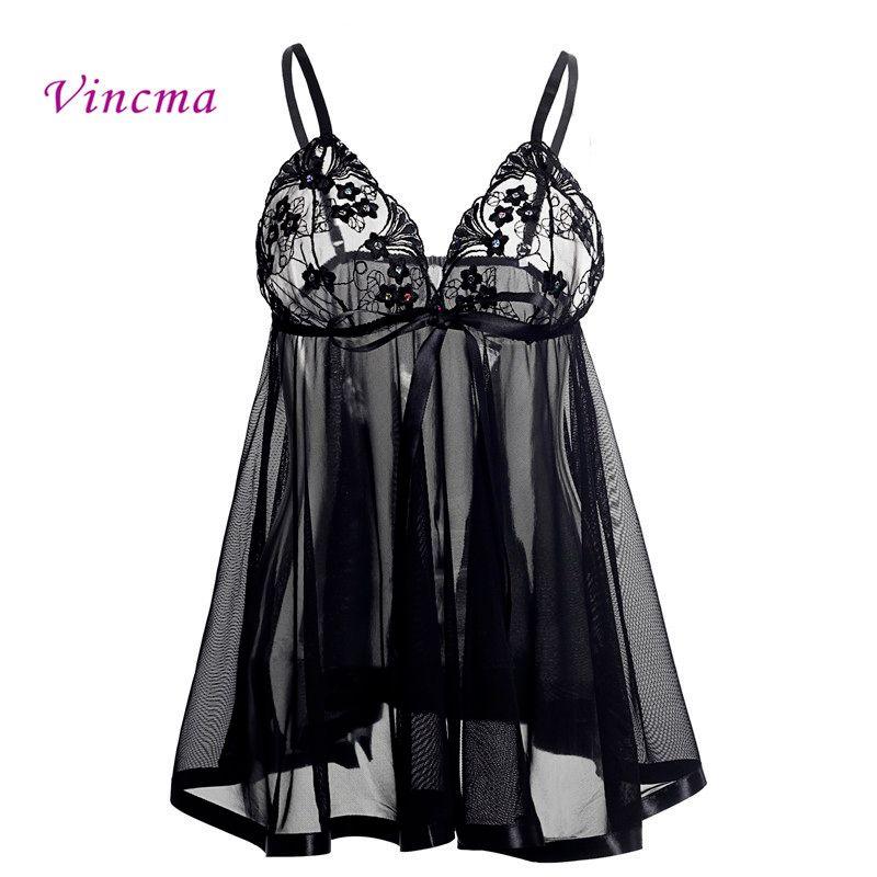 20395ac1d Pijama Infantil Masculino S M L XL XXL 3XL 4XL 5XL 6XL Plus Size Mulheres  Bordado Sutiã De Sutiã Erótico Roupa Interior Sexy Lingerie Babydolls  Vestido ...