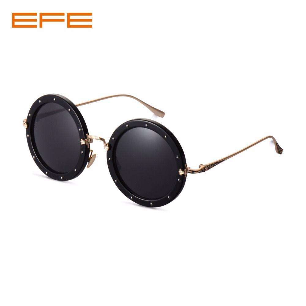 9de49c2c353 EFE Rounded Glasses Steampunk Retro Sun Glasses Polarized Clip on Sunglasses  Wsun for Women Man UV400 Oculos S969 Sunglasses Cheap Sunglasses EFE  Rounded ...