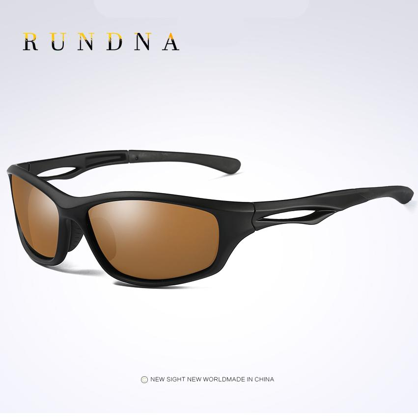 db2899996fd 2019 RUNDNA TR90 Leightweight Polarized Sports Sunglasses Outdoor Riding  Bike Bicycle Cycling Sunglasses TR90 Black Frame Brown Lens From Moonk