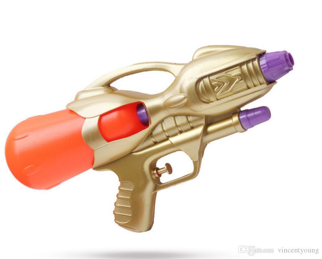 Hi-Qhigh quality Kids water gun outdoor Plastic model Beach game toys interaction Crystal CS spray Water gun Crystal Gun boys Kids 450 mL