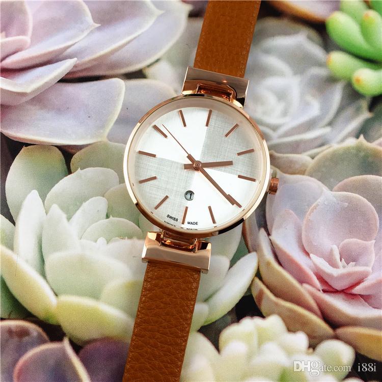 2019 neue arrivial luxus frauenuhren mode marke dame armbanduhr leder stahl quarz multi farben heißer verkauf kleid uhr elegante schönheit