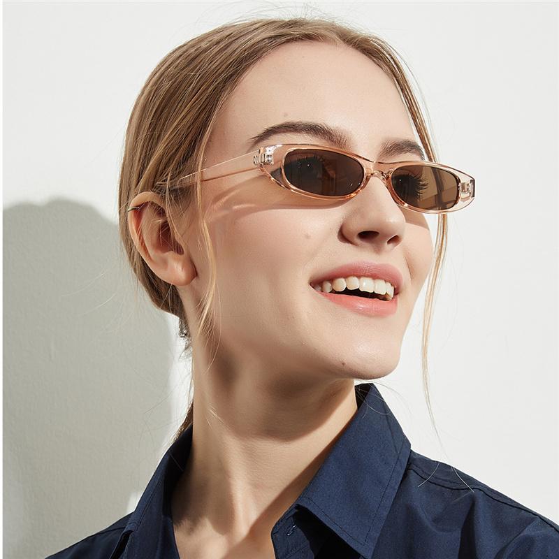62c4a302ac74b Compre YOOSKE Retângulo Do Vintage Óculos De Sol Das Mulheres Designer De  Olho De Gato Das Senhoras Pequeno Quadro Preto Vermelho Óculos De Sol Da  Marca ...